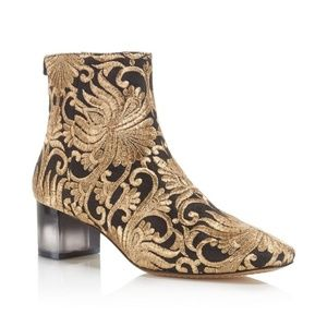 Tory Burch Carlotta Nayan Brocade Embroidered Boot